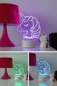 Unicorn Night Light Projector Our Personalised Unicorn Night Light Is The Must Have