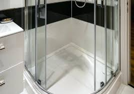 how to remove hard water stains on glass shower doors photo of a shower enclosure remove