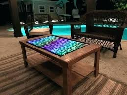 infinity coffee table handsome beyond the interactive for set to best pictures mirror mirro infinity mirror coffee table