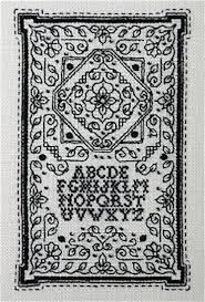 Blackwork Cross Stitch Charts Tiny Blackwork Sampler