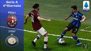 PES 2020 • Derby Milan Vs Inter 4°Giornata Serie A