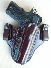 every effort has been made to make this the most comfortable concealable secure and stable i w b holster available the wide flaring slim profile