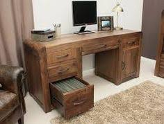 london oak large pedestal home. hampshire solid walnut twin pedestal computer desk superb large home office constructed using free uk mainland delivery london oak