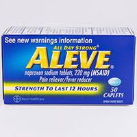 Aleve Dosage Rx Info Uses Side Effects