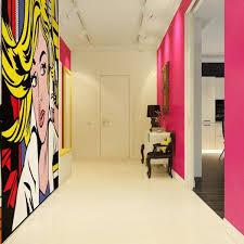 Small Picture Best 25 Pop art bedroom ideas on Pinterest Black wall art