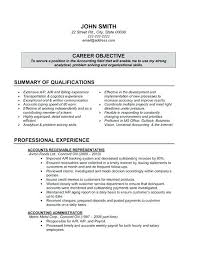 Sample Accounting Resume Objective Accountant Resume Objective Nice