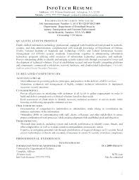 Security Specialist Resume Sample Best of Resume Info Eukutak