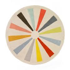 sweetlooking round kids rugs good looking rug pinwheel mod mid century nursery furniture