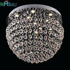 round crystal chandelier modern crystal chandelier light fixture round crystal lamp flush mounted chandelier lighting dining round crystal chandelier