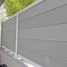Wpc Hollow Post And Railing Eco Railings Wpc Fence Pvc Fence Brise Vue Composite Castorama