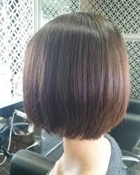 ボブ髪細い 美容院リズミカル