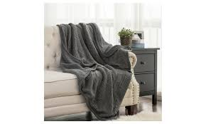 warmest blanket for bed.  Blanket This Chunky Knitted Blanket For Couch And Bed Warmest O
