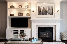 wall units built in entertainment center around fireplace diy built in entertainment center with fireplace