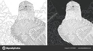Eagle Coloring Page Coloring Book Colouring Picture Bald Eagle Drawn