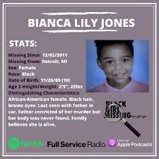 Ep.104 | Missing: Bianca Lily Jones