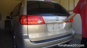 how to replace rear door tailgate handle on toyota sienna 2004 newer you