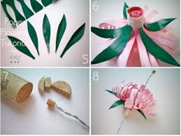 Making Of Flower With Paper Easy Crafting Paper Flowers To Dress Up Your Wedding Day