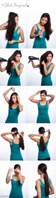How Todo Hair Style 3 easy & stylish must try ponytail hairstyles 3123 by wearticles.com