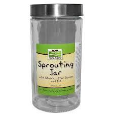 Now Foods, <b>Sprouting Jar</b>, <b>1</b>,<b>89 л</b> (1/2 галлона), цена 259,96 грн ...