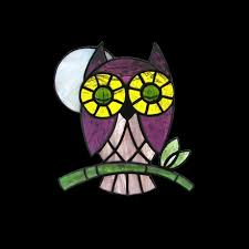 suncatcher stained glass patterns little owl sunlight studio stained glass patterns