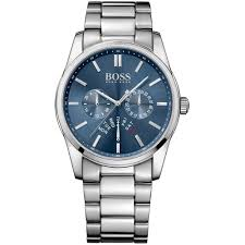 hugo boss 1513126 watch british watch company men 039 s heritage blue dial day date watch