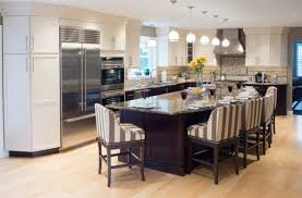 Big Kitchen Design. Kitchen With Long IslandBig ...