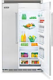 viking refrigerator inside. viking professional 5 series vcsb5483ss - stainless steel in use refrigerator inside