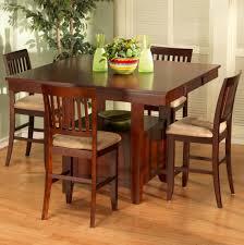 5 Piece Bar Table Set Bar Table Sets Amerihome 3 Piece Adjustable Height Pub Table Set