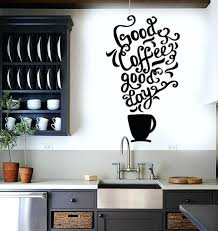 white wall decals quotes vinyl wall decal quote coffee kitchen shop  restaurant cafe art vinyl wall
