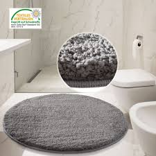 top 62 top notch round bathroom mats black rug rugs plush modern