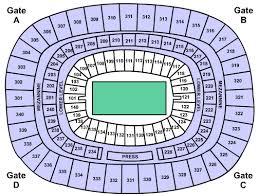 Landrys Tickets Seating Chart Giants Stadium E