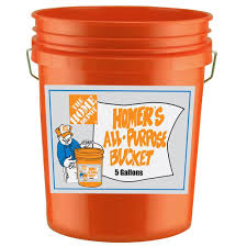Small Picture The Home Depot 5 gal Homer Bucket 05GLHD2 The Home Depot