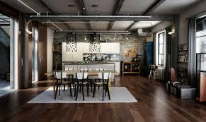 Industrial Apartment Design Home Design Ideas - Industrial apartment