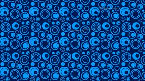 Blue Designs Navy Blue Seamless Circle Background Pattern Design
