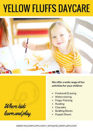 Childcare Flyers Customize 28 Daycare Flyer Templates Online Canva