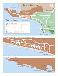 area maps of rocky point, maps of puerto penasco, mexico, maps of Las Conchas Section Map sandy beach area map Las Conchas Rocky Point