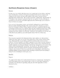 example of synthesis essay co example of synthesis essay