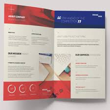 How To Make A Half Fold Brochure Template In Word Insurance