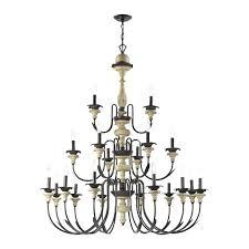 elk lighting chandelier elk lighting point light chandelier in aged cream and oil rubbed bronze by
