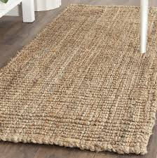 bargain natural jute rug com safavieh fiber collection nf447a hand woven