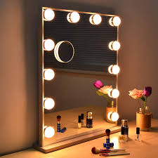 Where Can I Buy A Makeup Vanity Table With Lights Wonstart Hollywood Makeup Vanity Mirror With Lights Kit Lighted Makeup Dressing Table Vanity Set Mirrors With Dimmer Tabletop Or Wall Mounted