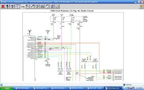 windstar wiring diagram harness the factory stereo cables graphic