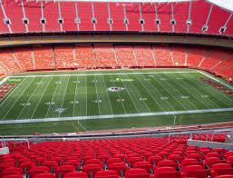 Arrowhead Stadium Section 325 Seat Views Seatgeek