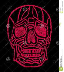 Tattoo Tribal Mexican Skull Vector Art Stock Vector Illustration
