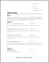 Resume Writing Templates – Resume Sample Web