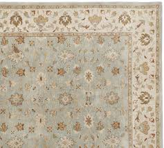 malika persian style rug swatch pottery barn for area rugs inspirations 0