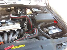 pcv system repair on a volvo 5 cylinder 1 jpg