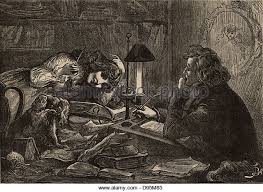 david copperfield charles dickens illustration stock photos david copperfield the eponymous hero of the novel sits writing the works that make