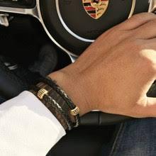 <b>Black Leather</b> Wristband Promotion-Shop for Promotional <b>Black</b> ...