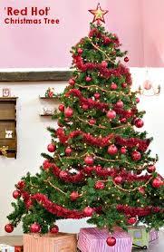 'Red Hot' Theme Christmas Tree